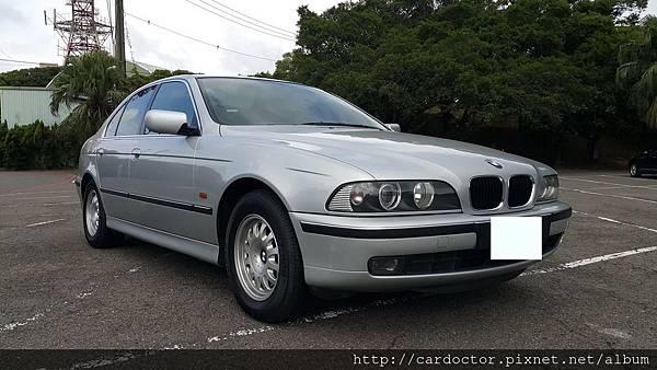 BMW寶馬汽車BMW E39 520i 美規桃園市古車估價實例,BMW寶馬汽車中古車行情及車輛介紹。