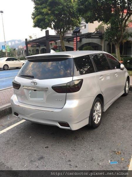 豐田TOYOTA 2010年 WISH G版 桃園市中古車估價實例,TOYOTA豐田中古車行情及車輛介紹。