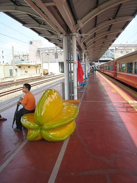 斗六火車站的楊桃