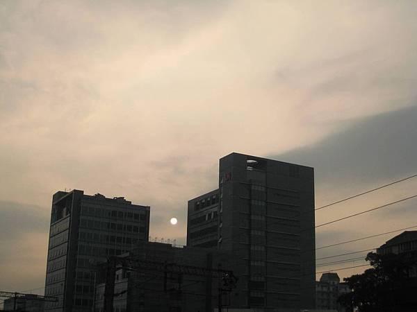 南港的夕陽