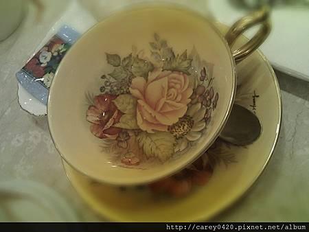 今天我使用的茶具......