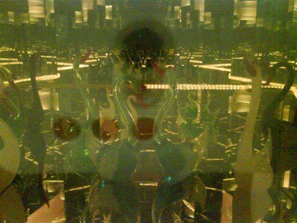 這是裡面有玻璃製的動物 很難拍很清楚