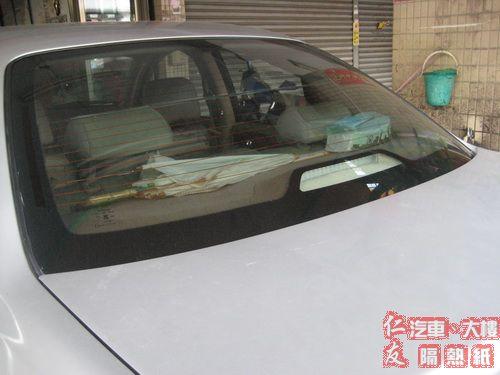 SENTRA M1 180 後擋風玻璃隔熱紙整片精貼