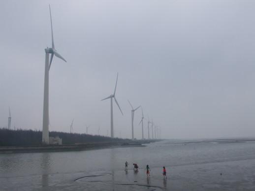 第二天*高美溼地~風車