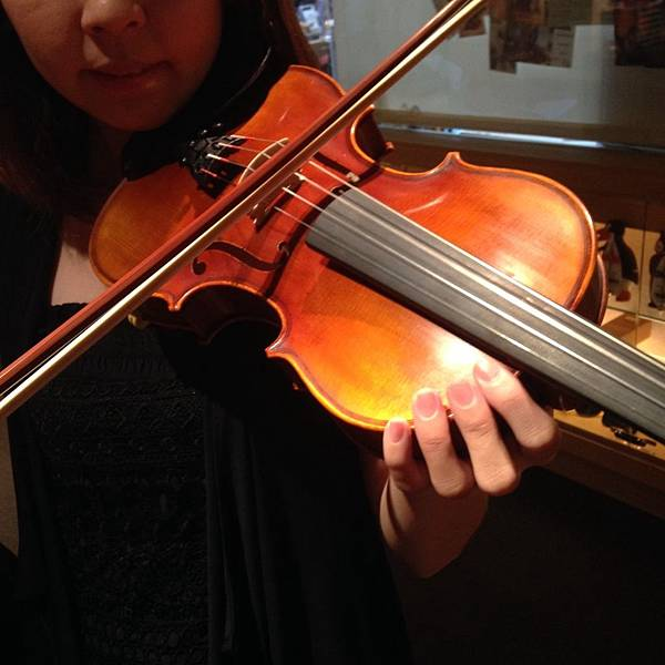 小提琴姿勢