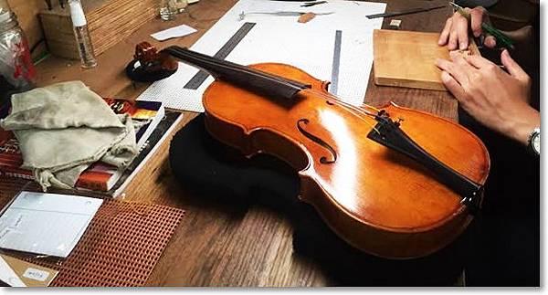 專業貝克父子小提琴維修工作室~小提琴維修的最佳選擇