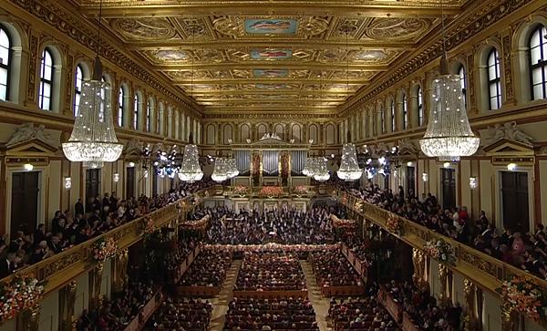 維也納愛樂樂團與金色大廳,亙古不變的維也納新年音樂會