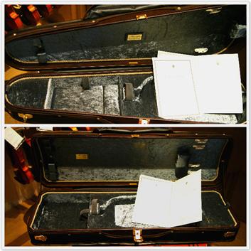 輕量Musafia義大利手工琴盒