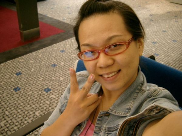 in Hong Kong Airport
