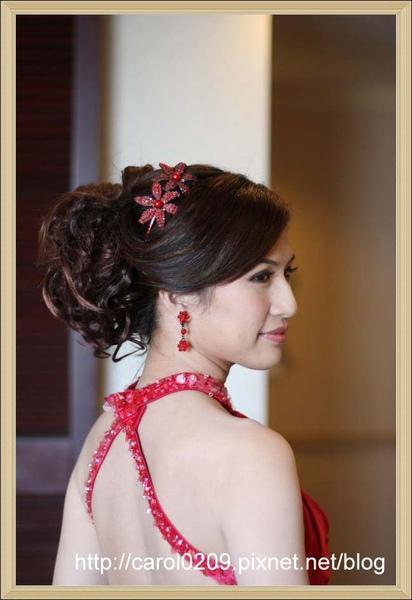 結婚紅色禮服