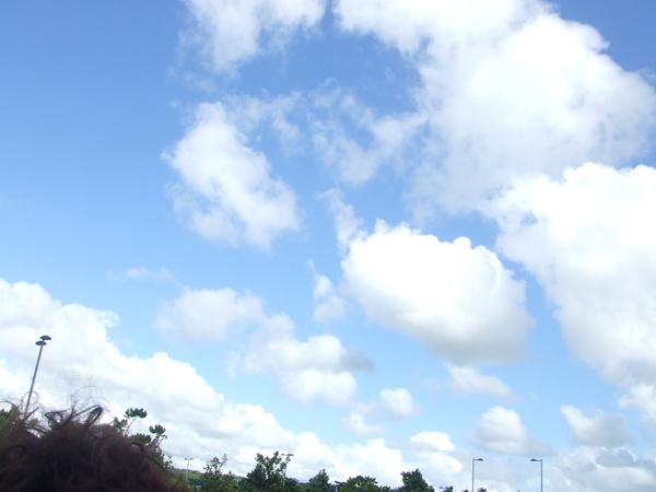 海生館外的天空