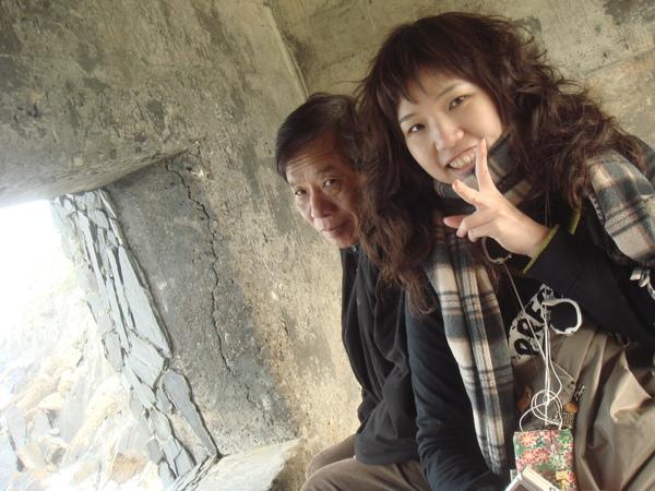 阿爸和妹妹.JPG