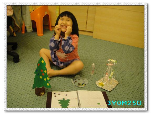 3Y00M25D-手作聖誕樹02