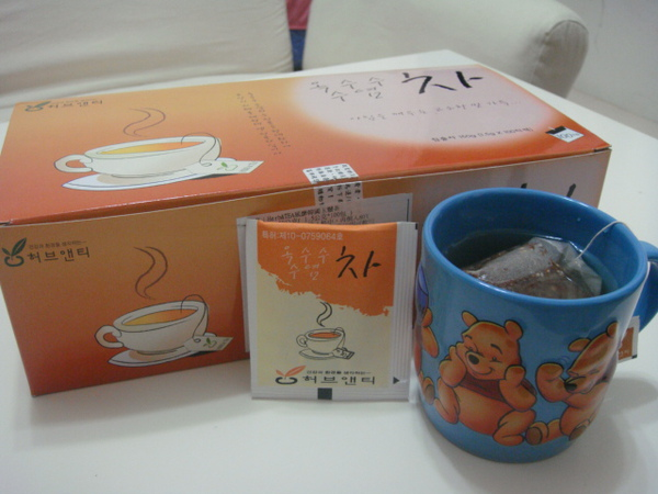Herb&TEA風靡韓國玉鬚茶