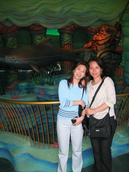 Disney Sea-美人魚礁湖