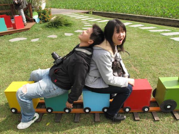 彩色小火車