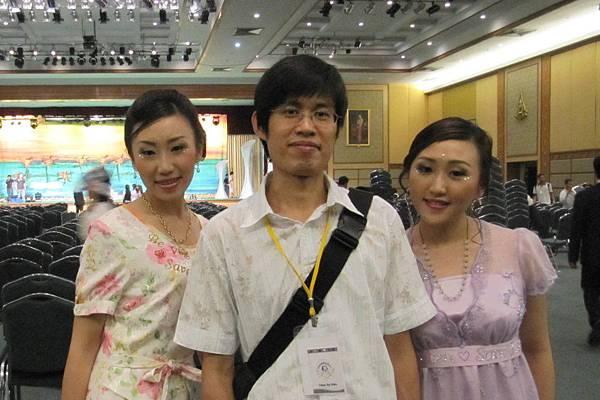 邱哥跟藍氏姐妹 :D