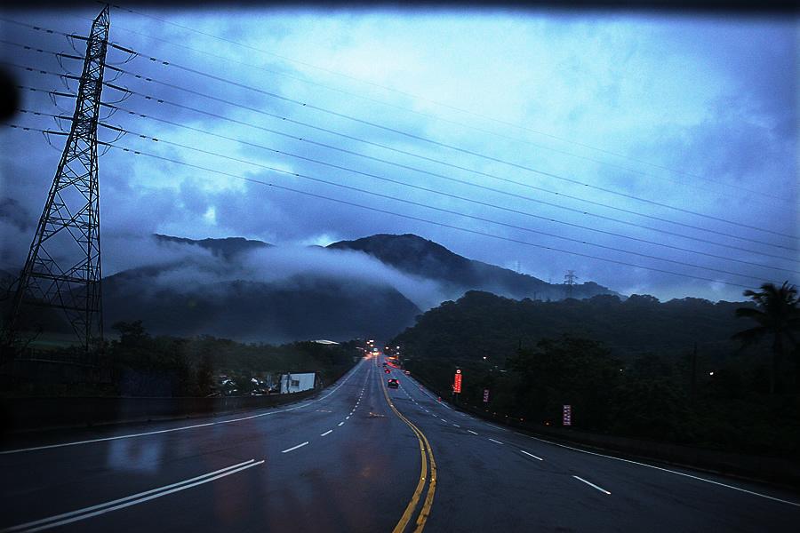 台東九線-山區傍晚