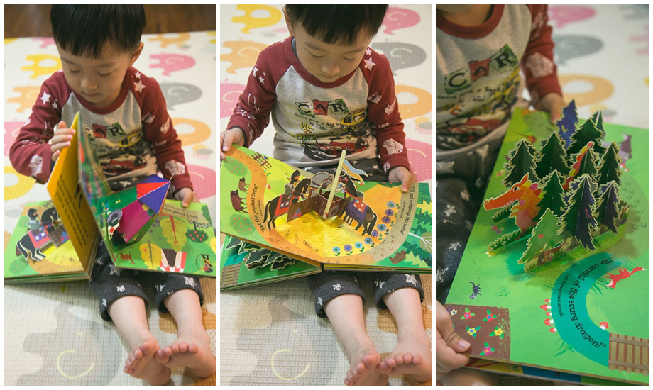 A Pop-up Book and Playmat in One