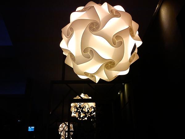 店裡的吊燈