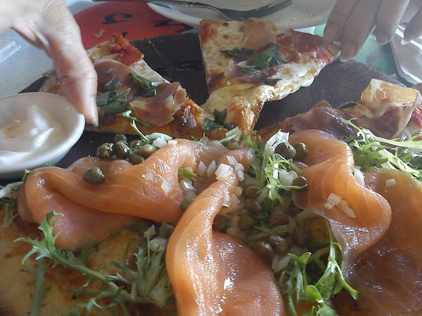 雙拼pizza