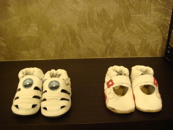 第一雙鞋鞋