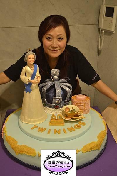 慶祝英國女皇登基60年紀念茶發表會 033