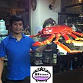 大閘蟹是10月26日在世貿旅展桃園縣政府單位