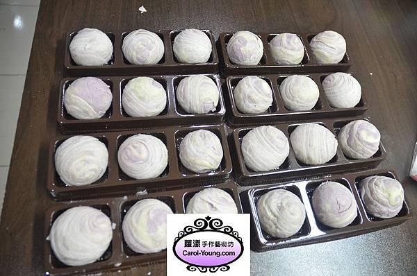 學員陳小姐-專業烘培課程(芋頭酥)-20121022