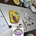 學生陳小姐-人型蛋糕裝飾證書課程初級烘培-20121021