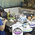學生陳老師-人型蛋糕裝飾證書中級
