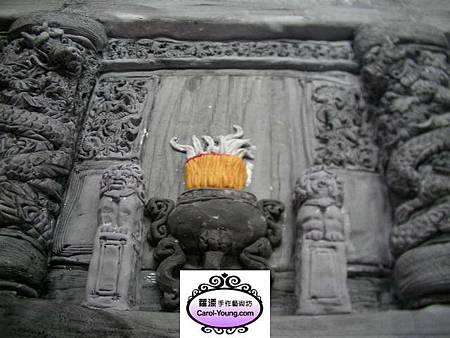 歡樂城(高雄代天宮正殿翻糖裝飾)