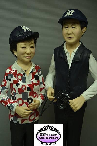 李先生夫婦 高60cm底