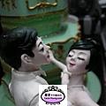 2012年12月高雄科工館歡樂蛋糕城工藝蛋糕展(6m櫃愛的故事書翻糖裝飾藝術)