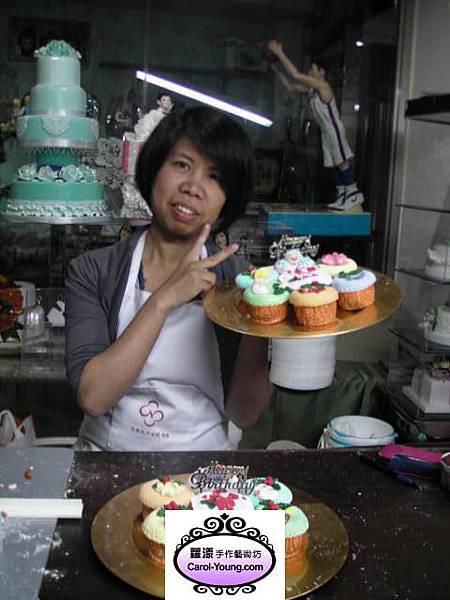 培訓學生黃慧卿-杯子蛋糕