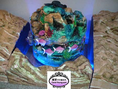 蘿漾高雄工藝蛋糕展-展前彩排
