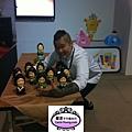 2012年12月21日高雄科工館歡樂蛋糕城工藝蛋糕展(開幕會)