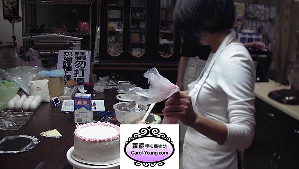 培訓學員 黃慧卿蛋糕烘培課程