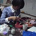 培訓學生黃惠卿-人型蛋糕裝飾證書課程初級