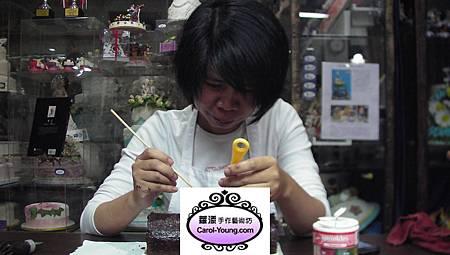 慧卿-巧克力戚風捲