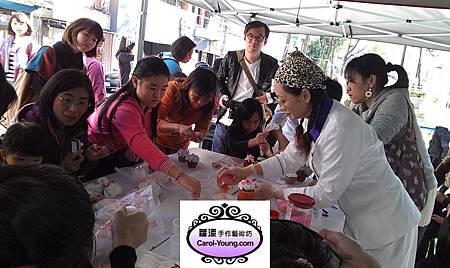 蘿漾-台北當代藝術杯子蛋糕裝飾課