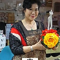 YULI大姊的仿法藍瓷花器