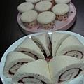天使蛋糕(芙蓉櫻桃卷&杯子蛋糕變化)