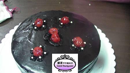 慧卿-巧克力甘佩斯海綿蛋糕7