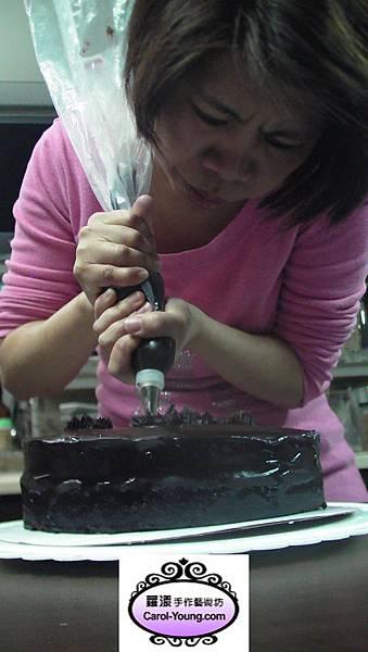慧卿-巧克力甘納許海綿蛋糕