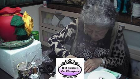 VIP學生莊京-單選課程-仿法藍瓷花器-201302