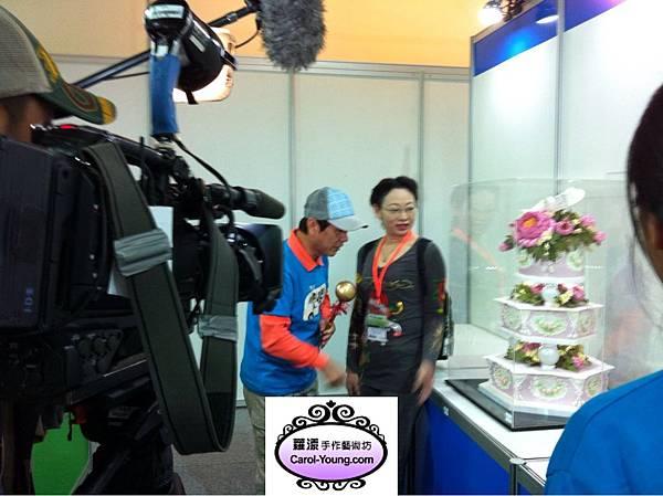 三立草地狀元採訪2013年3月gateaux盃蛋糕技藝競賽327選手報到