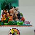 蘿漾選手楊子翎 2013蛋糕協會3月gateaux盃蛋糕技藝競賽-職業組杏仁膏裝飾比賽作品
