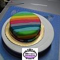 學生張名明-人形蛋糕裝飾課程-Summer rain(真蛋糕)