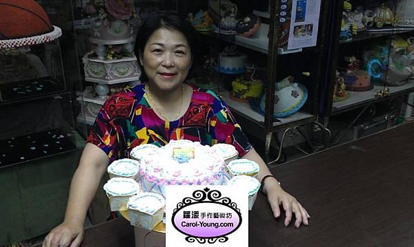 阿媽為阿孫diy親手製作生日蛋糕